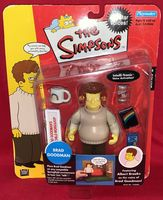 The Simpsons: Brad Goodman - World of Springfield Interactive Figure - Sealed On Card